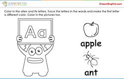 phonics for kids free worksheets songs videos and audio lessons - Printable Worksheets For 2 Year Olds