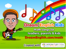 Dream English Kids Songs free mp3 song downloads